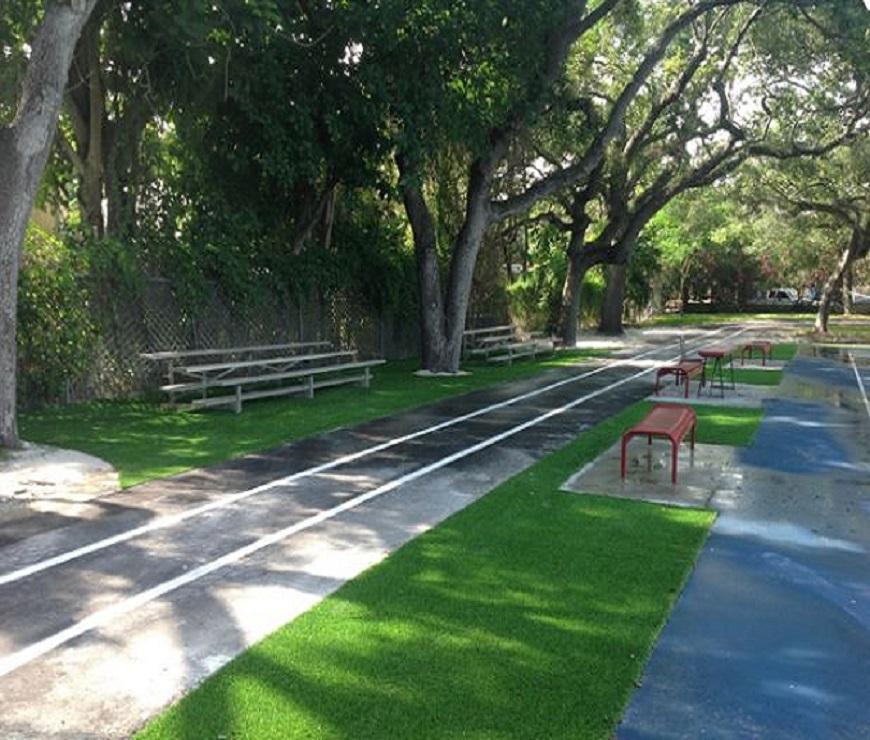 Commercial Artificial Grass Installation
