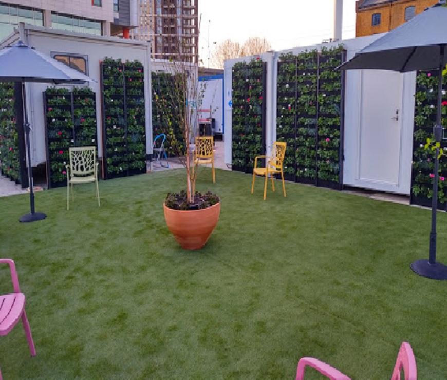 Turf Garden for Hospital Installation