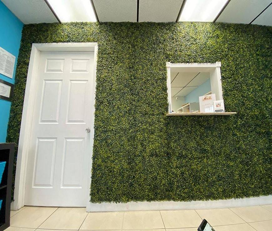 Artificial IVY Plants Installation